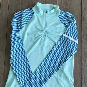 Novara cycling jacket sz L green&blue NWOT